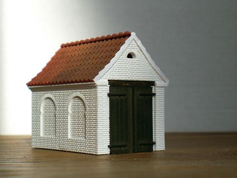 Turup Sprøjtehus, byggesæt fra Danscale